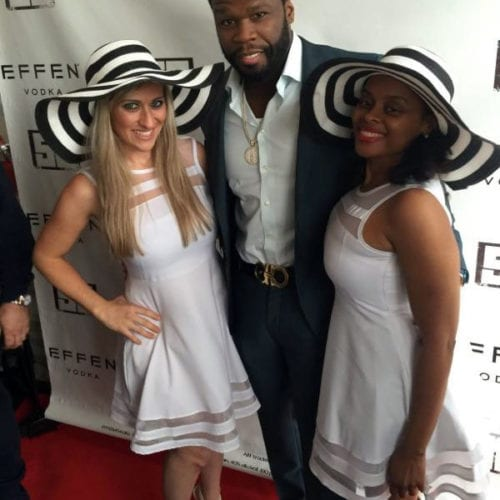 The Jolie Agency Event - May-Preakness-VIP-Effen-Vodka-Tent-with-50cent